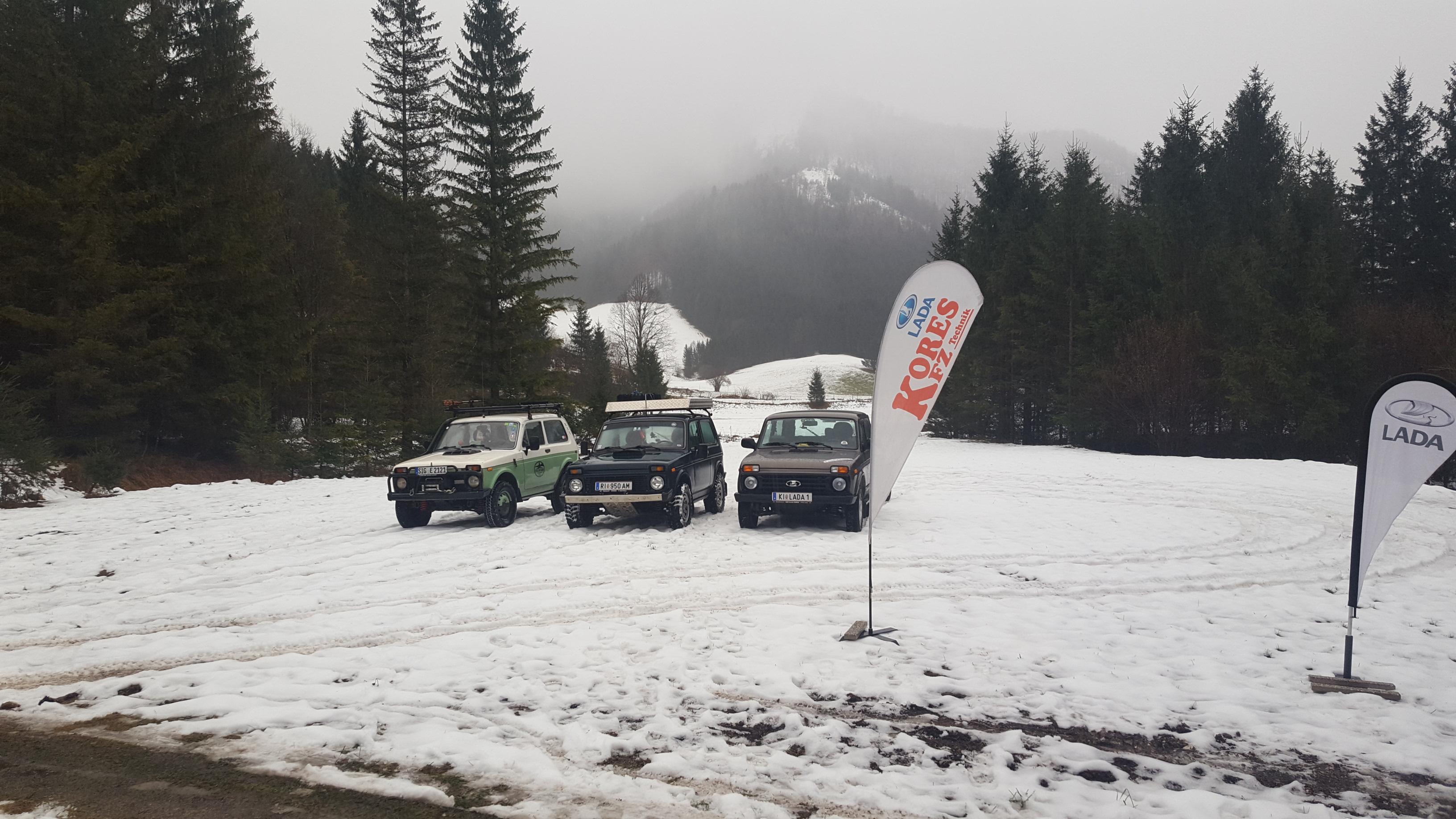 Impressionen Vom Winterlichen Treffen In Molln Dezember 2017